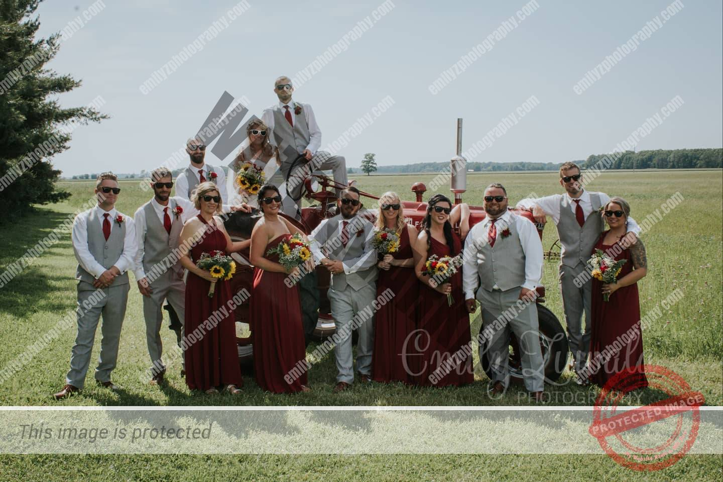 Wild wedding parties have the most fun   #Ashley&Jeremy