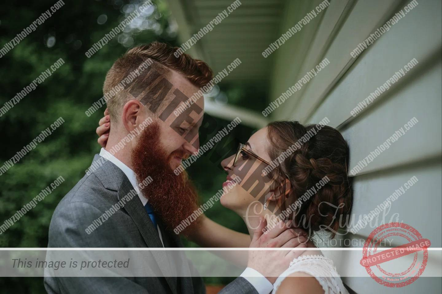 So if rain on your wedding day is good luck, a tornado  has to be extra good luc...